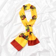 2020 Autumn Fashion Lady Garment Necktie Silk Scarf, OEM Printed Soft Breathable Scarf and Shawl