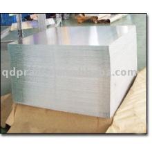 hoja de aluminio