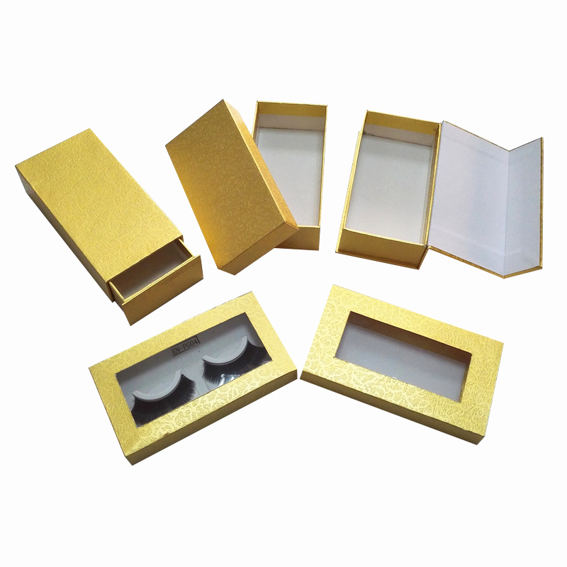 eyelashes box with different types