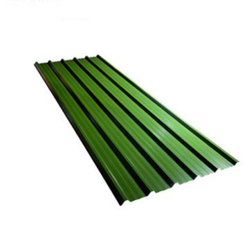 Строительный материал с цветным покрытием оцинкованный гофрированный металлический кровельный лист