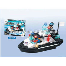 Building Blocks Boat Toy