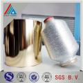 Reines silbernes metallisches Garn / japanisches metallisches Garn / Regenbogen-Metallgarn