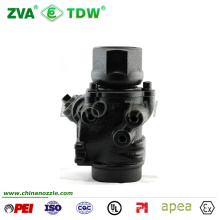 Emergency Fire Protection Valve Iron Shut off Single Poppet Emergency Shut off Valve for Fuel Dispenser