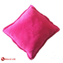 custom promotional lovely plush cushion