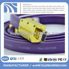 1.5M NOUVEAU Câble HDMI FLAT 1.3v Pour PS3 HDTV 1080