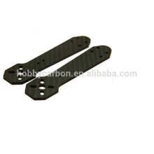 Fabricante do zangão, 3K Twill / Plain Matte / folha lustrosa da fibra de carbono, peças do CNC