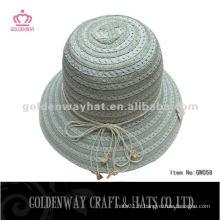 Manteaux de mode pour femmes en forme de chapeaux en papier à bas prix pour vêtements d'été de dames