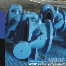 Counter Weight Pn16 Cast Iron A126 B Butterfly Check Valve