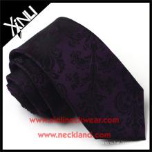 Lazos florales para hombre tejidos a mano de alta calidad del telar jacquar de seda