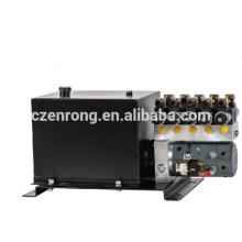 Groupe motopompe hydraulique pour véhicule porteur