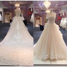 Роскошь Без Бретелек Бальное Платье Свадебное Платье Свадебное Платье 2017 Wgf150
