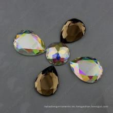 Piedras planas de la joyería de la parte posterior sin los agujeros para la decoración