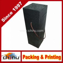 Жесткие картонные коробочки для вина (2336)
