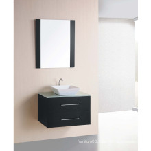 Hot Sale Wall Mounted Wooden Veener Bathroom Cabinet