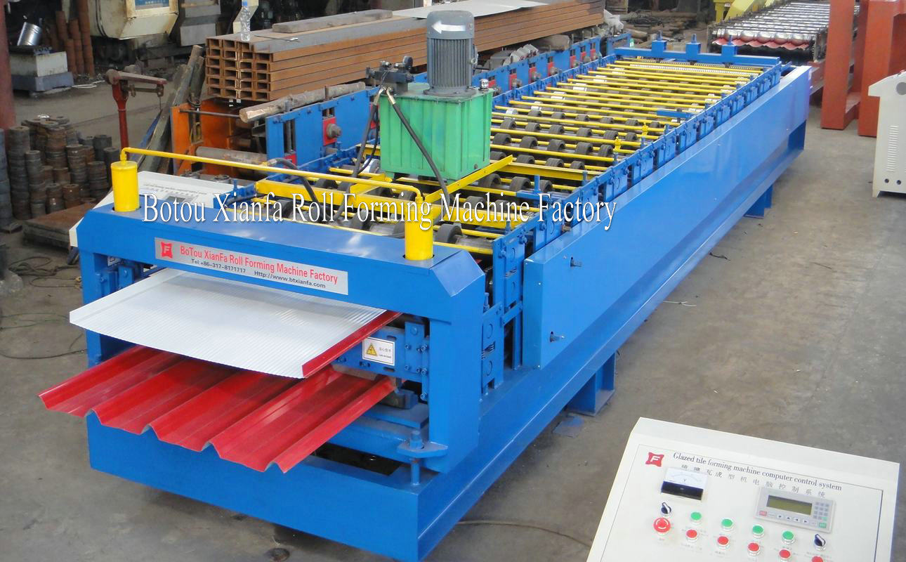 composite roll forming machine