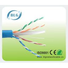 Precio competitivo de BLG fábrica 23AWG Cat6 cable lan