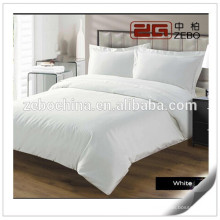 Egyptian Cotton High Quality Plain White Hotel Used Best Bed Sheets