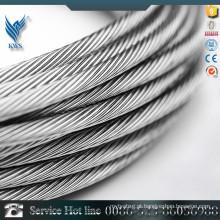 Cabo de aço inoxidável / corda de aço de 16 mm / fabricante de corda de aço inoxidável
