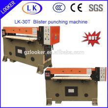economic punching machine for plastic blister clamshell