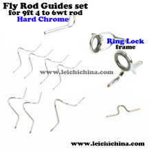 Top Quality Fly Rod Guide Set para 9ft 4wt to 6wt Rod Wholesale