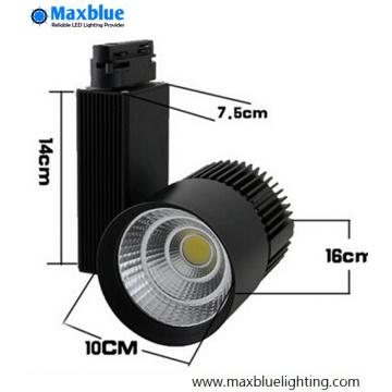 20 30 45W High CRI 90ra LED Track Light for Store Lighting