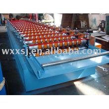 Rouleau de tôle ondulée d'aluminium formant la Machine