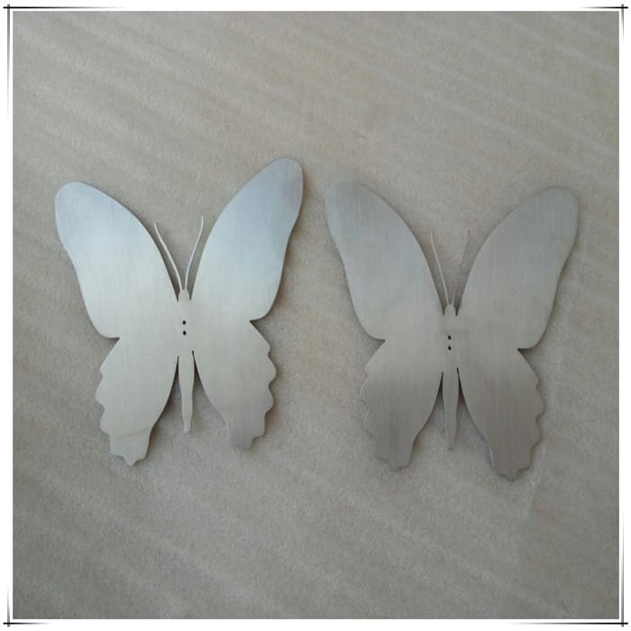 Stainless steel Laser cutting butterfly