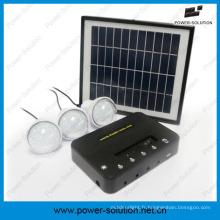 Allumez le système d'énergie solaire actionné par 3rooms pour les secteurs hors grille