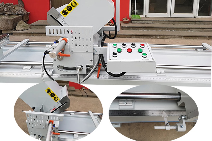 aluminum upvc cutting machines