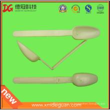 Venta al por mayor para el polvo de medición del animal doméstico Plástico Cuchara plegable