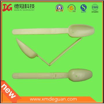 Cuchara plegable de plástico y cucharada sólo para la venta al por mayor