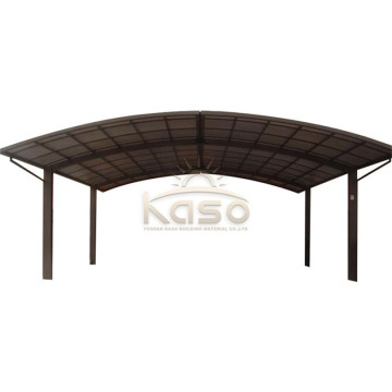 PrefabAluminum Frame Canopy Modern Single Slope Carport Car