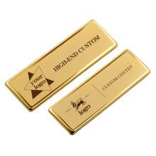 Custom Enamel Logo Cheap Metallic Security School/Company/Hospital Safe Pin Badges