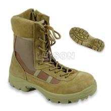 Taktische Stiefel aus Rindsleder Vollkorn Leder / Anti-Rutsch