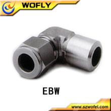 Tubo de aço inoxidável montagem tubo de flange montagem 316ss3 / 8t