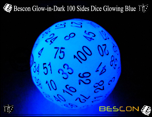 Bescon Glowing Blue D100-1