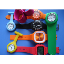 2016 Popular Silicon Custom Slap on Watch with Best Price