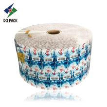 Flexible packaging plastic film roll for label
