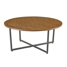 sala de estar mesa de centro de madera rústica