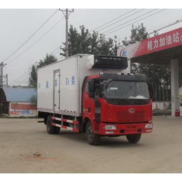 FAW Refrigerated Van Vehicle For Food