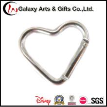 Chaveiro de Material de alumínio em forma de coração