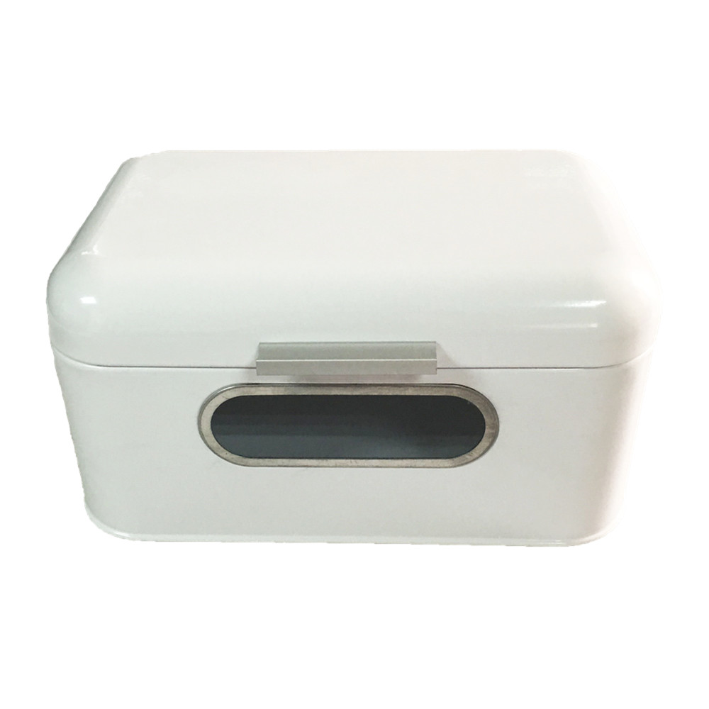 white color bread bin