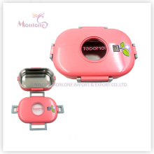 PP Stainless Steel Lunch Box with Lock (710ml)