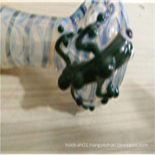 Cheap Price Glass Hand Pipe for Smoking Individualization Pattern (ES-HP-163)
