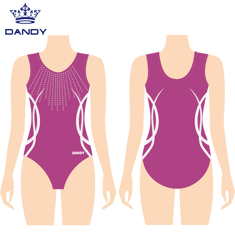 personalised gymnastics leotard