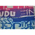 Tissu de housse de canapé brossé antidérapant avec motif imprimé