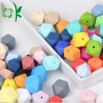 Silicone Chewable BPA Free Baby Teething Beads