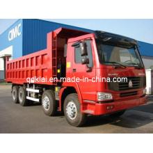 Camión volquete Sinotruck HOWO 8X4 Capacidad 20cbm-25cbm