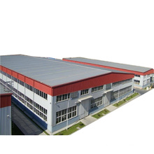 China Big Span Prefabricated Portable Prefab Container Light Steel Structure Workshop Or Office