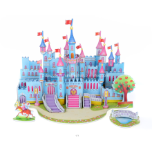 Puzzle 3D Blue Castle